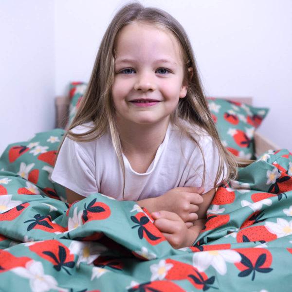 Couverture lestée Balance® Kids Strawberries